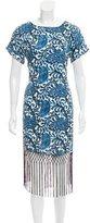MICHAEL Michael Kors Printed Short Sleeve Dress w/ Tags