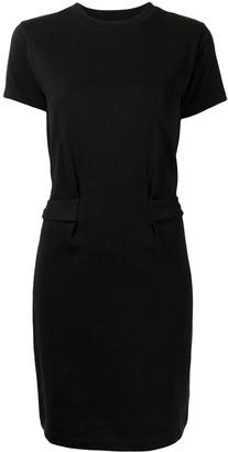 Vince Tie-Fastening Cotton Dress