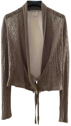Liviana Conti Khaki Cotton Knitwear for Women