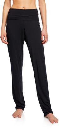 Hanro Yoga Fold Over-Waist Pants