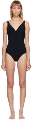 Totême Black Sondrio One-Piece Swimsuit