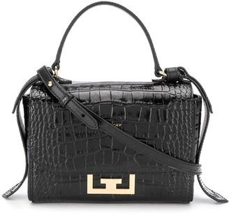 Givenchy Embossed Crocodile Effect Cross Body Bag