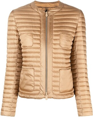 Save The Duck Padded Collarless Jacket