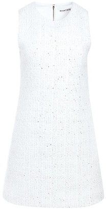 Alice + Olivia Coley Sleeveless Textured A-Line Dress