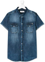 John Galliano TEEN short sleeve denim shirt