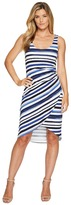 Tommy Bahama Aquarelle Stripe Sleeveless Midi Dress Women's Dress