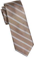 MICHAEL Michael Kors Repp Stripe Silk Tie