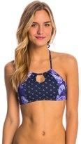 Roxy Perpetual Water Crop Halter Bikini Top 8147394