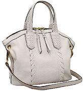 Oryany As Is Cassie Pebbled Leather Mini Convertible Satchel