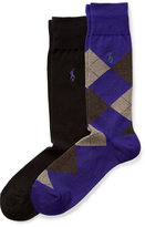 Ralph Lauren Trouser Sock 2-pack