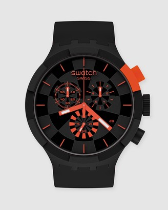 Swatch Men's Red Analogue - CHECKPOINT RED - Size One Size at The Iconic