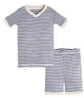 Baby Stripe Organic Cotton Short Sleeve Pajamas
