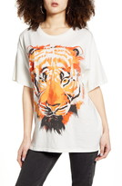 Wrangler Oversized Tiger Graphic Tee