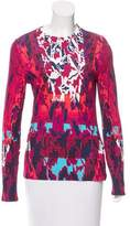 Peter Pilotto Abstract Print Long Sleeve Top