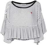 Philosophy di Lorenzo Serafini striped drape sweater