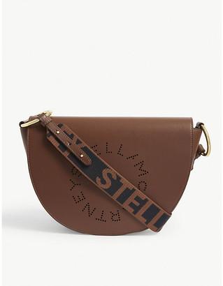 Stella McCartney Half Moon large vegan-leather shoulder bag
