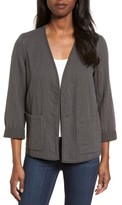 Eileen Fisher Women's Reversible Organic Cotton Jacket