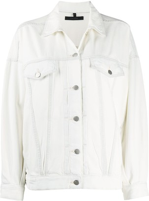 J Brand Bleached Denim Jacket