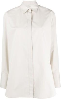 The Row Oversized Plain Shirt