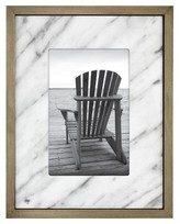"""Threshold Ivory Marble with Wood 4""""x6""""Frame"""