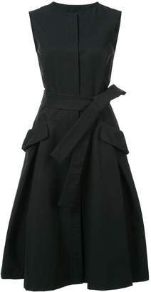 Carolina Herrera tie-waist dress