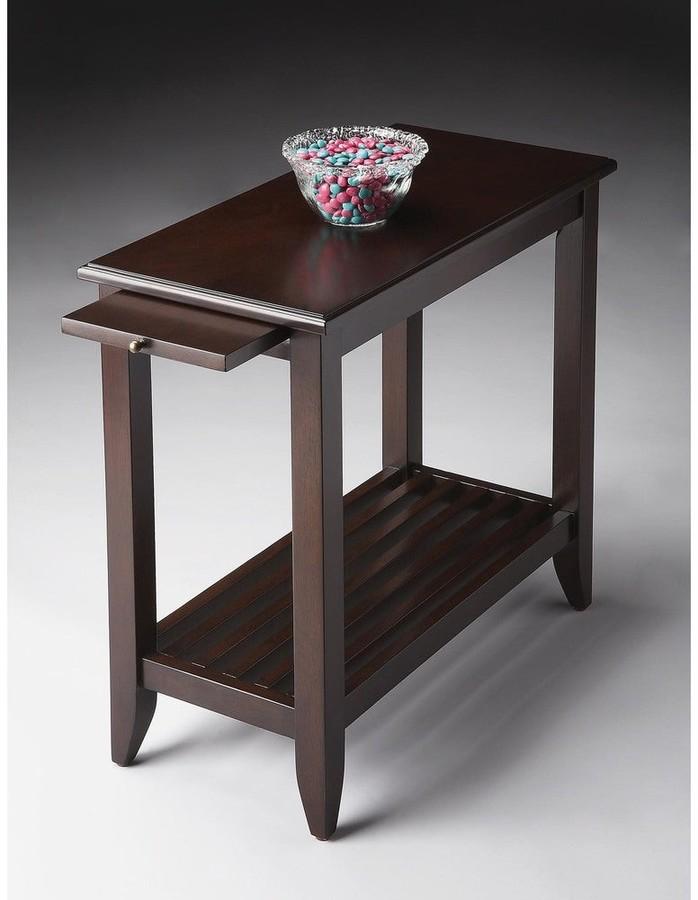 Thumbnail for your product : Butler Handmade Irvine Merlot Chair End Table