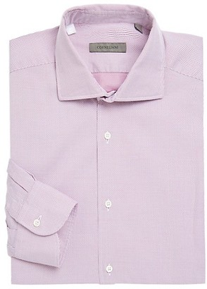 Corneliani Regular-Fit Stripe Dress Shirt