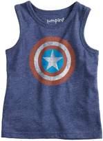 Toddler Boy Jumping Beans Marvel Captain America Logo Tank Top
