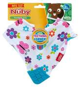 Nuby Teething Bib Butterflies & Daisies