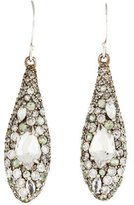 Alexis Bittar Quartz & Diamond Drop Earrings