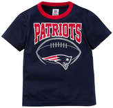 Gerber New England Patriots Poly Football T-Shirt, Toddler Boys