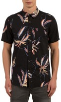 Volcom Men's Motel Floral Print Shirt