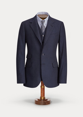 Ralph Lauren Striped Suit Jacket