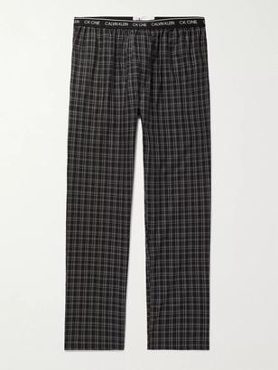 Calvin Klein Underwear Checked Cotton Pyjama Trousers