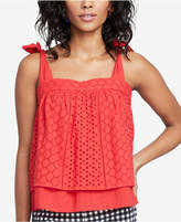 Rachel Roy Cotton Eyelet Top, Created for Macy's