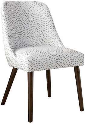One Kings Lane Barron Side Chair - Gray/White