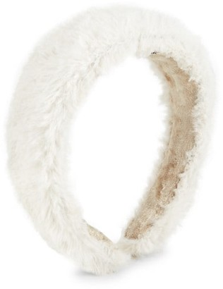 Lizzie Fortunato Faux Fur Headband