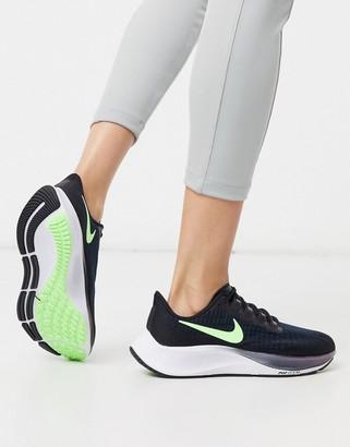 Nike Running Air Zoom Pegasus 37 sneakers in black