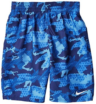 Nike Kids Americana Lap 8 Volley Shorts (Little Kids/Big Kids) (Midnight Navy) Boy's Swimwear