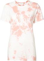 Rodarte tie-dye effect T-shirt - women - Cotton/Polyester/Rayon - S