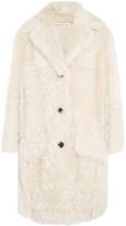 Marni Shearling Coat - Ivory