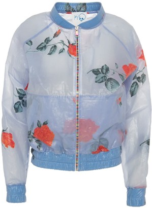 Boo Pala Rose Raincoat Bomber Jacket