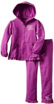 Calvin Klein Girls 2-6X Two Pieces Hooded Set