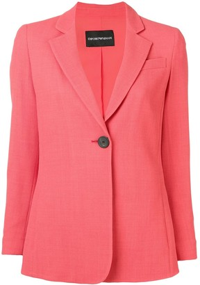 Emporio Armani Single Button Blazer