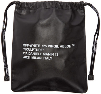 Off-White Black Small Sculpture Satchel