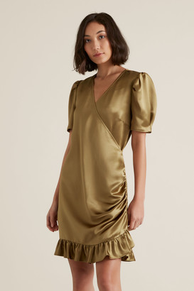 Seed Heritage Wrap Over Dress