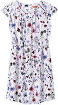 Joe Fresh Women's Pleat Neck Dress, White (Size XS)