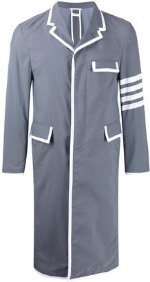 Thom Browne 4-Bar classic unconstructed overcoat