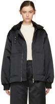 Nomia Black Laced Bomber Jacket