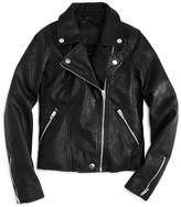 Blank NYC BLANKNYC Girls' Faux-Leather Moto Jacket - Big Kid